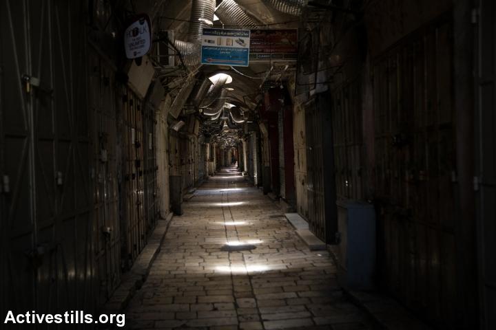 העיר העתיקה, 04.10.15. צילום:  Faiz Abu Rmeleh/Activestills