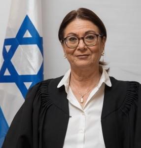 נשיאת בית המשפט העליון, אסתר חיות. צילום: CC BY-SA 4.0