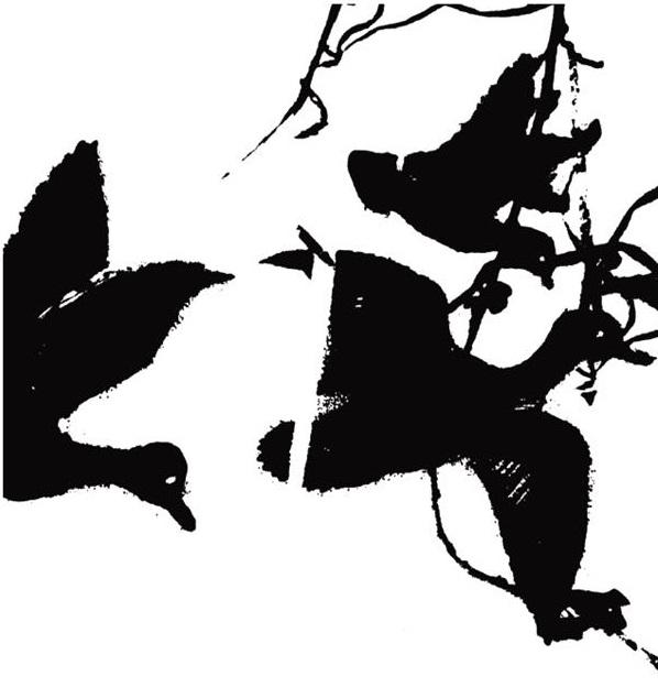 """ציור הכריכה של """"מות הציפור"""" מאת רון דהן בהוצאת אינדיבוק"""