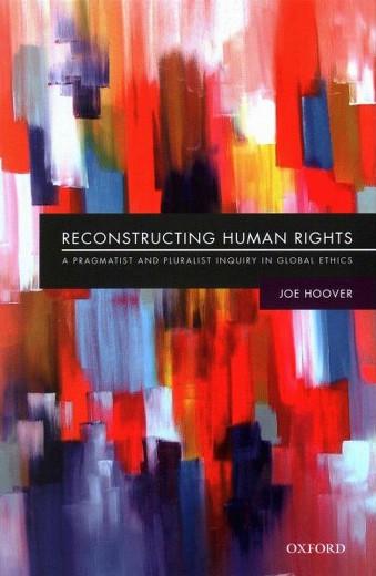 ההבנייה מחדש של זכויות האדם, כריכת ספרו של ג'ו הובר