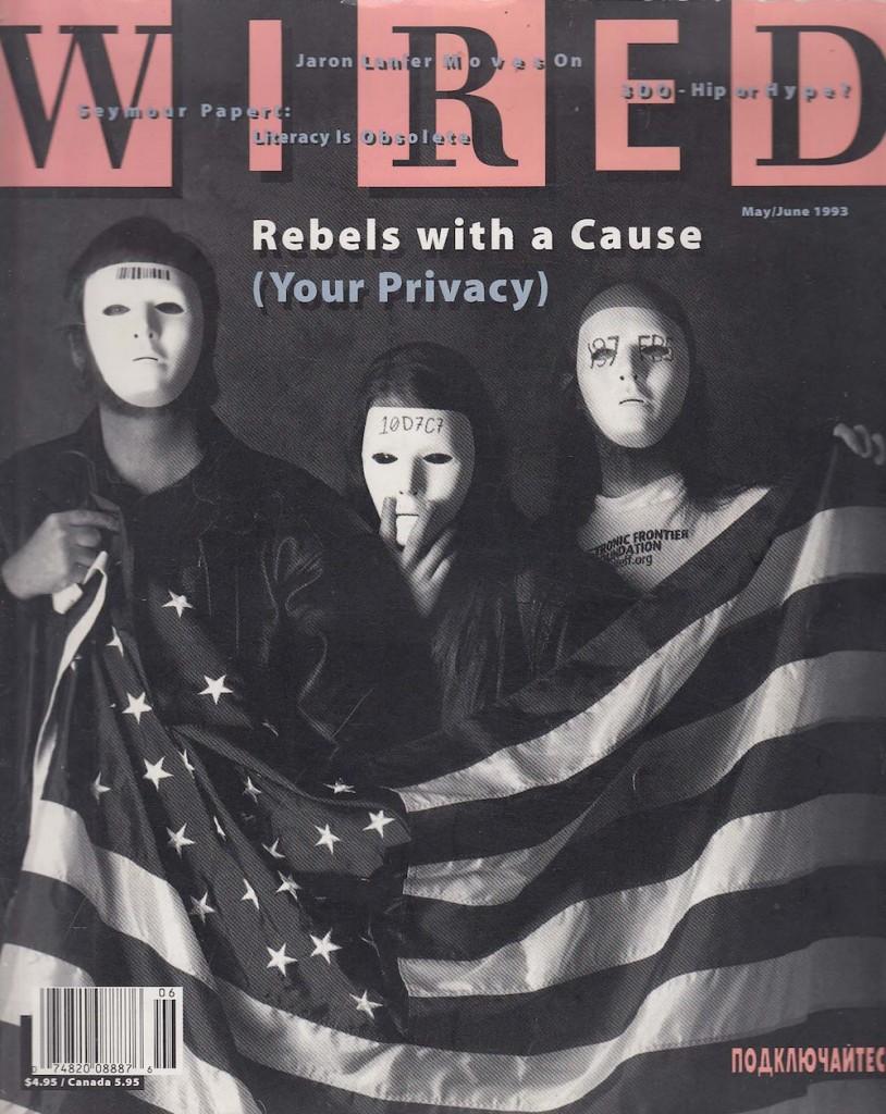 שער ״Wired״ מ-1992