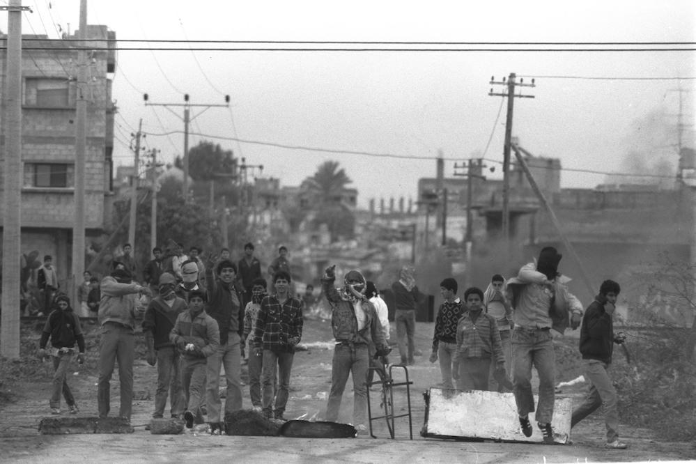 אל בורייג׳, דרום הרצועה, 1988. צילום: הרניק נטי / לע״מ