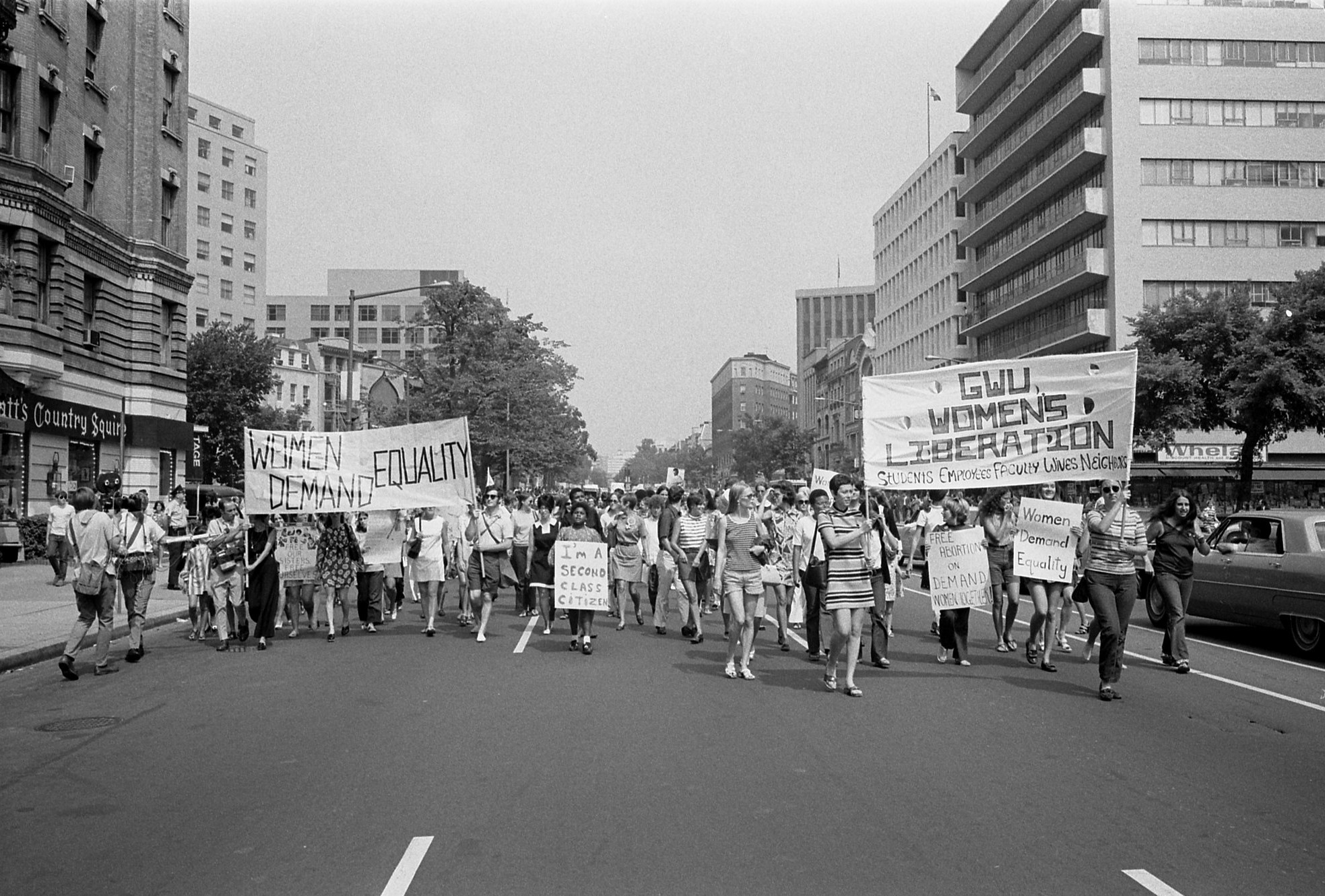 צעדת נשים בוושינגטון, 1970. צילום: Library of Congress