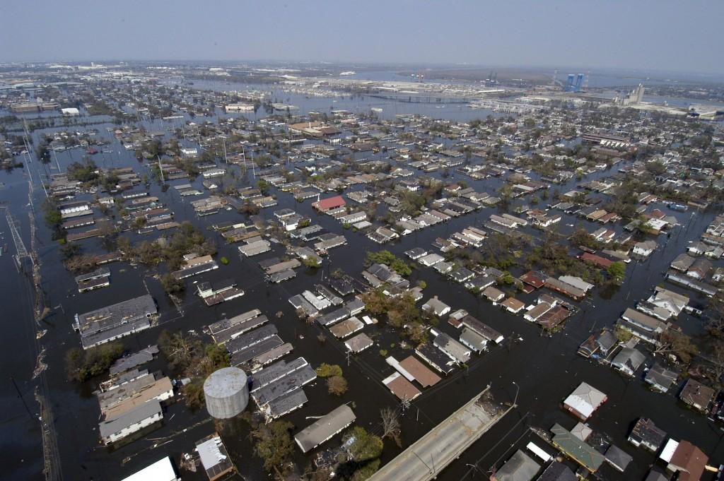 نيو أورلينز (لويزيانا) بعد اعصار كاترينا