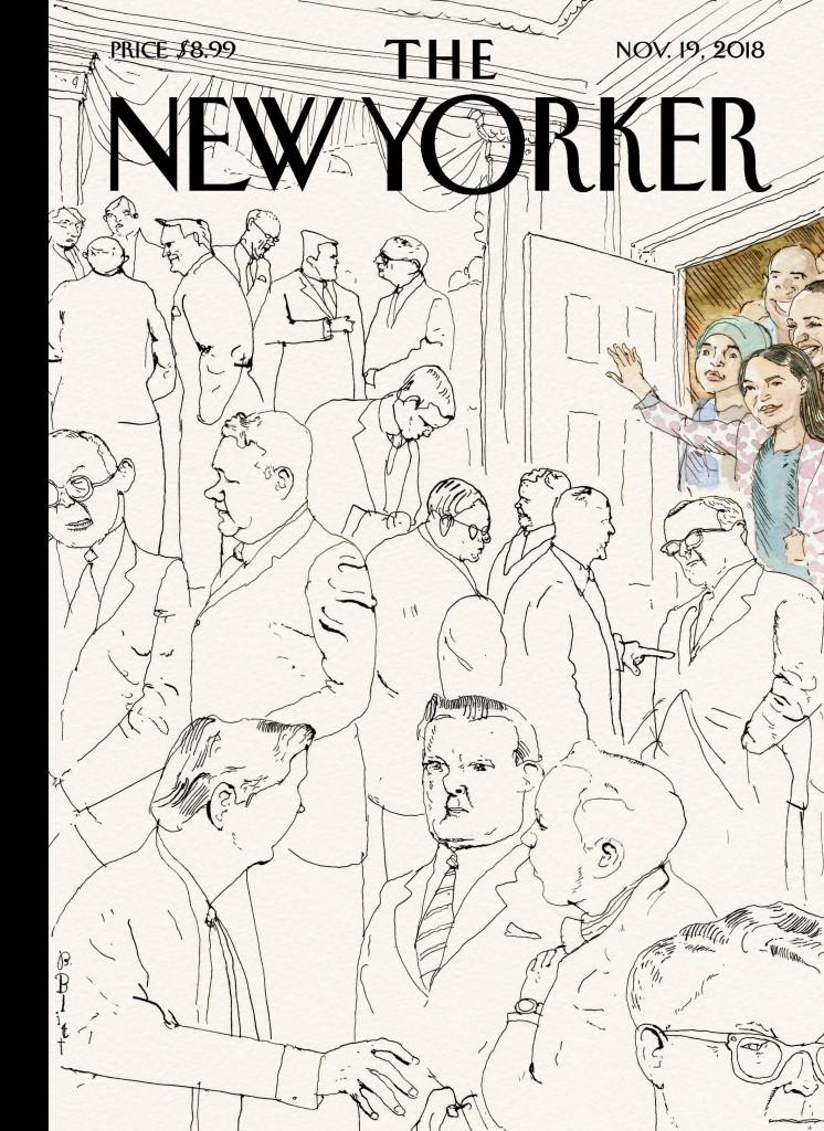 """שער ה""""ניו יורקר"""", נובמבר 2018"""
